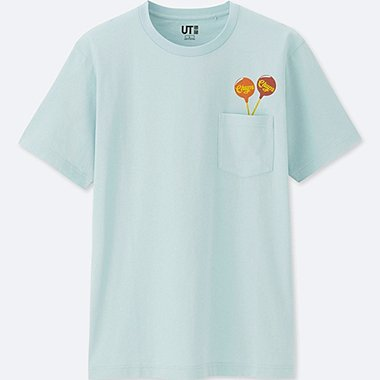 THE BRANDS SHORT-SLEEVE GRAPHIC T-SHIRT (CHUPA CHUPS), LIGHT BLUE, medium