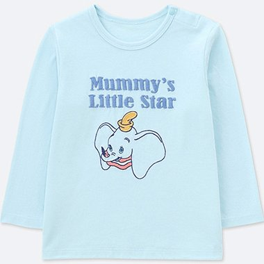 BABIES TODDLER DISNEY COLLECTION CREW NECK T-SHIRT LONG SLEEVE