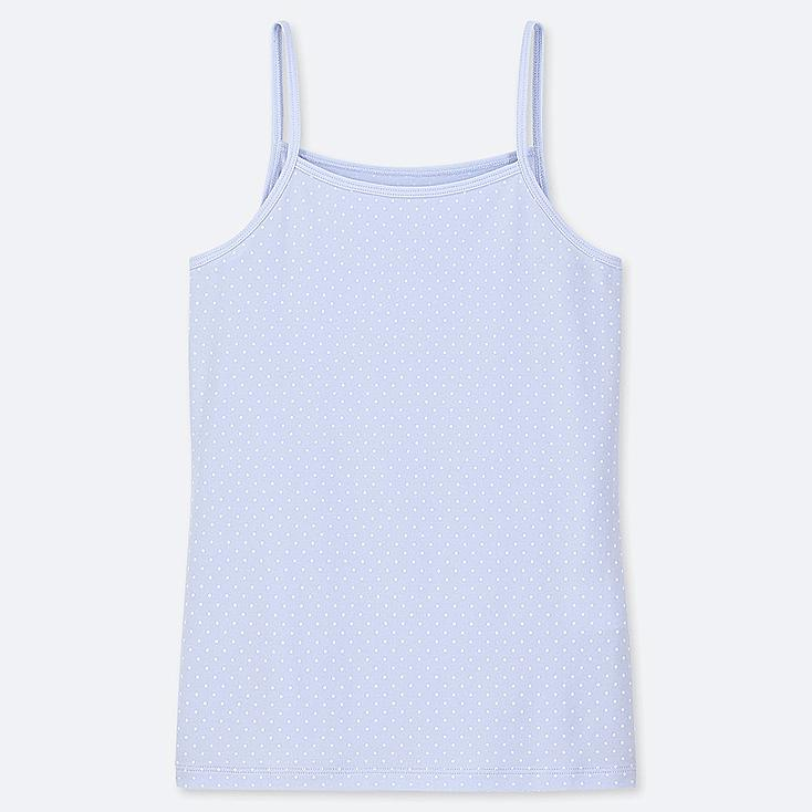 GIRLS AIRism CAMISOLE, LIGHT BLUE, large
