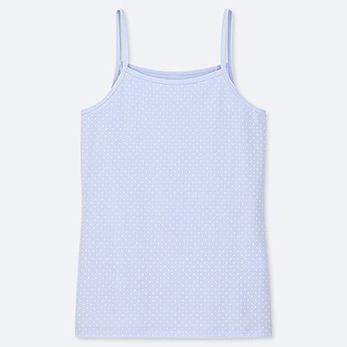 GIRLS AIRism CAMISOLE, LIGHT BLUE, medium