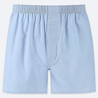 MEN WOVEN BROAD BOXERS, LIGHT BLUE, medium