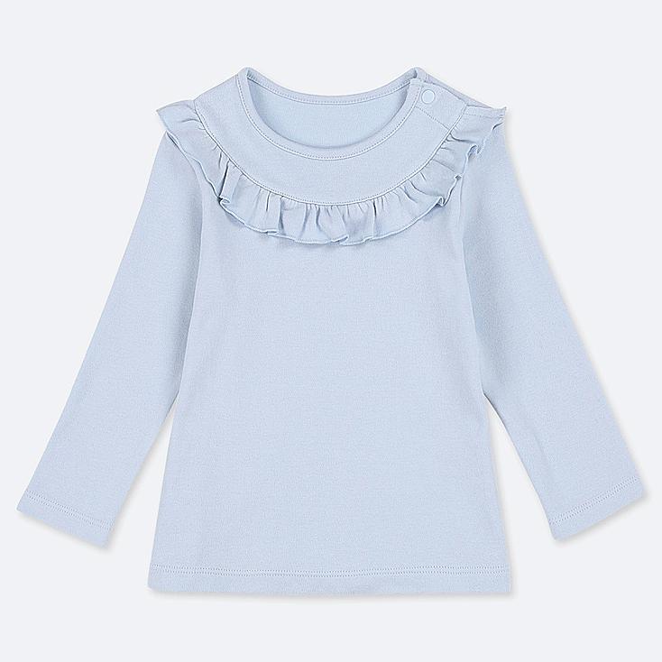 TODDLER CREW NECK LONG-SLEEVE T-SHIRT, LIGHT BLUE, large
