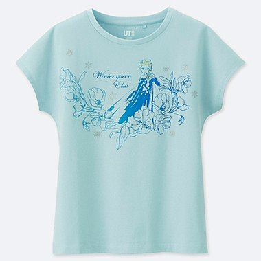 DISNEY BLOSSOMING DREAMS  (RAPUNZEL) CAMISETA ESTAMPADA NIÑA