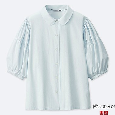 BLOUSE MANCHES BALLON 3/4 COL CLAUDINE JW ANDERSON FEMME