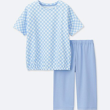GIRLS Dry Short Sleeve Lounge Set