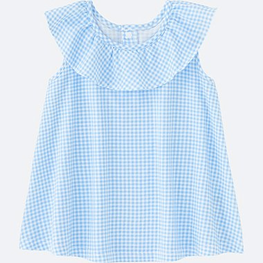 TODDLER Frill Sleeveless T-Shirt