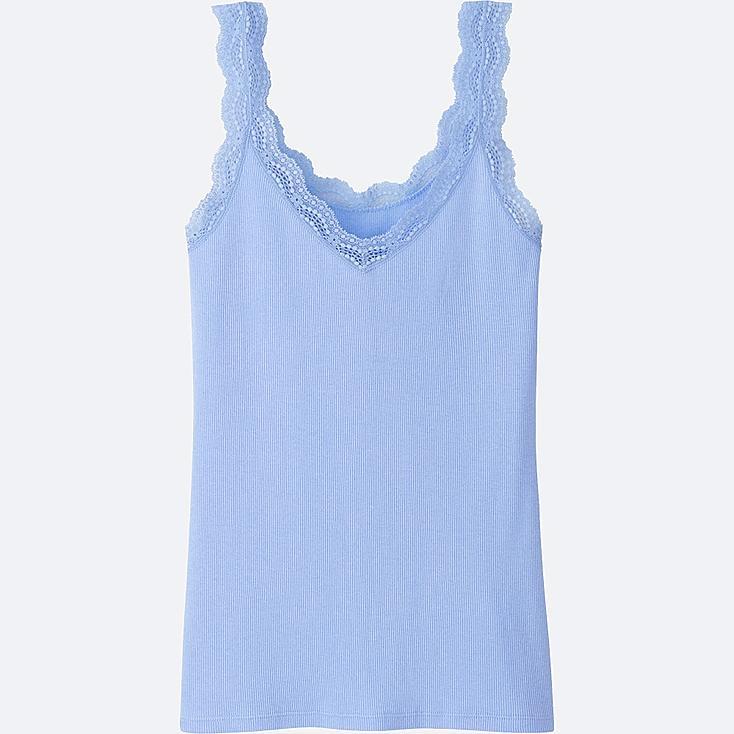 WOMEN 2Way Reversible Ribbed Lace Tank Top