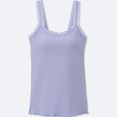 WOMEN RIBBED LACE BRA SLEEVELESS TOP/us/en/women-ribbed-lace-bra-sleeveless-top-407570.html
