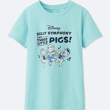 WOMEN SOUNDS OF DISNEY SHORT-SLEEVE GRAPHIC T-SHIRT, BLUE, medium