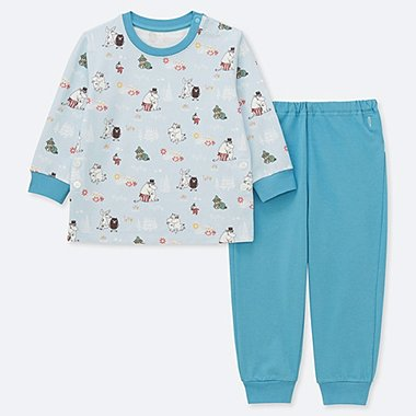 BABIES TODDLER MOOMIN LONG SLEEVED PYJAMAS