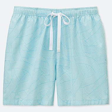 WOMEN KAMAWANU COTTON RELACO SHORTS, BLUE, medium