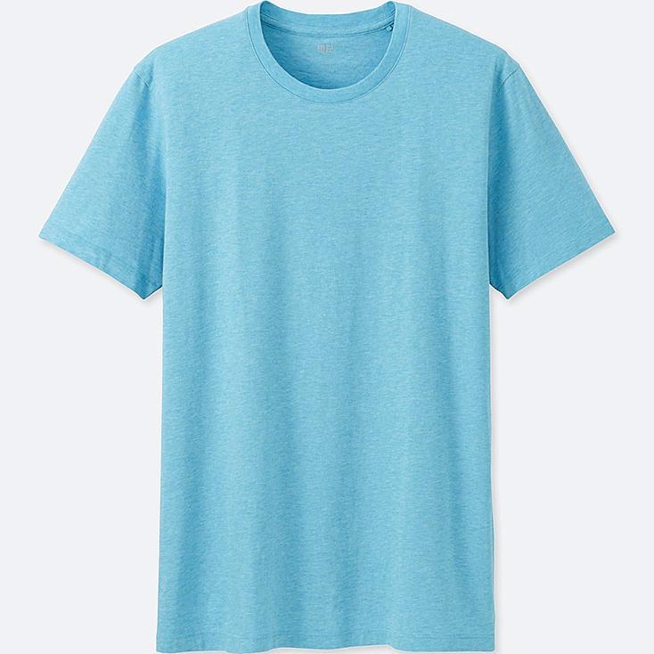 Men Supima® Cotton Crew Neck T-Shirt, BLUE, large