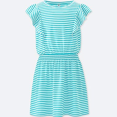 GIRLS Frill Short Sleeve Dress