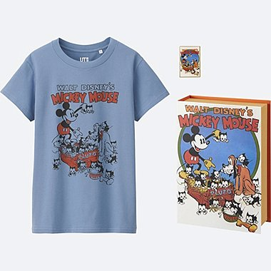 WOMEN DISNEY COLLECTION GRAPHIC SHORT SLEEVE T, BLUE, medium