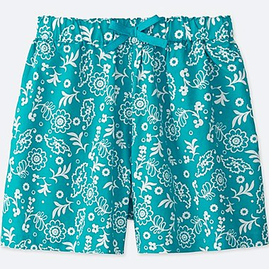 GIRLS EASY  FLARE SHORTS, BLUE, medium