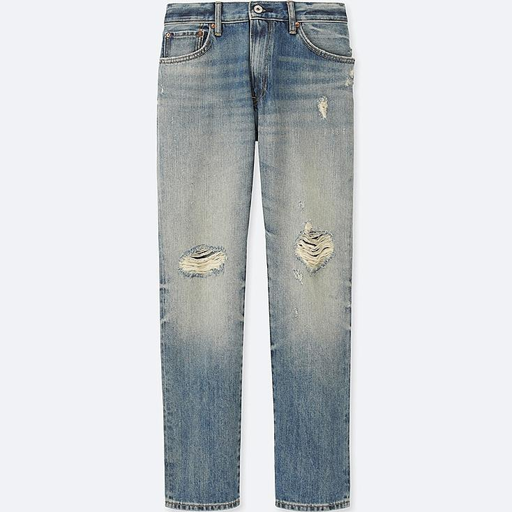 MEN Regular Fit Damaged Jeans
