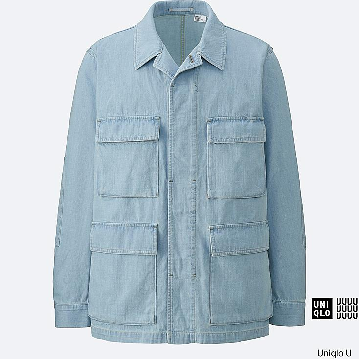 MEN Uniqlo U Denim Work Jacket