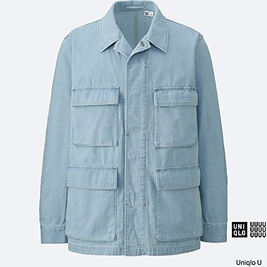 MEN Uniqlo U Denim Work Jacket