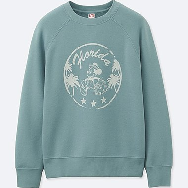 BOYS MICKEY TRAVELS GRAPHIC SWEATSHIRT