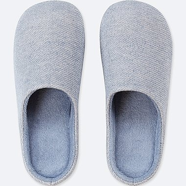 SLIPPERS, BLUE, medium