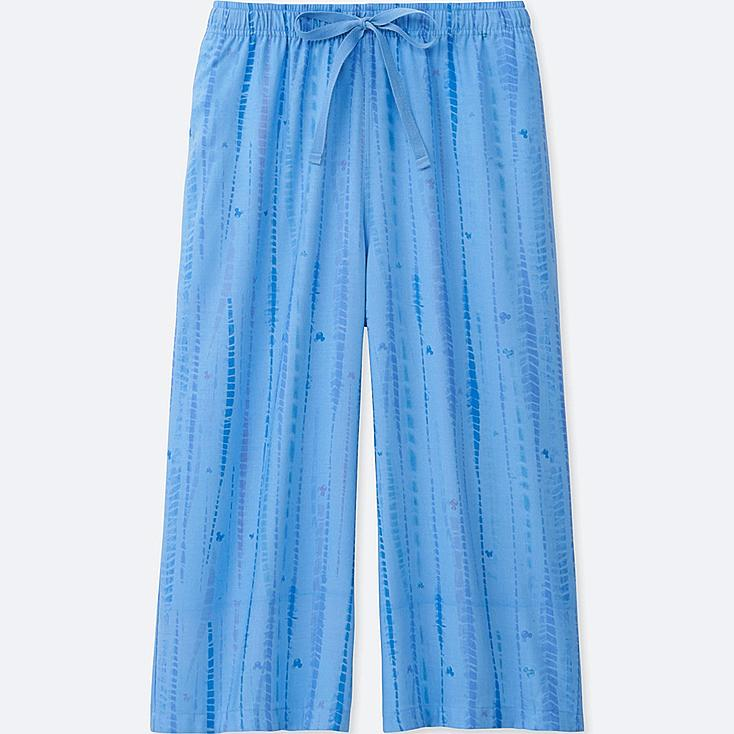 WOMEN MICKEY & THE SUN RELACO 3/4 SHORTS, BLUE, large