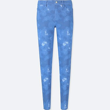 WOMEN PRINT LEGGINGS TROUSERS