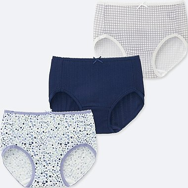 GIRLS UNDERWEAR (PACK OF 3)