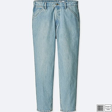 MEN U WIDE-FIT TAPERED JEANS, BLUE, medium