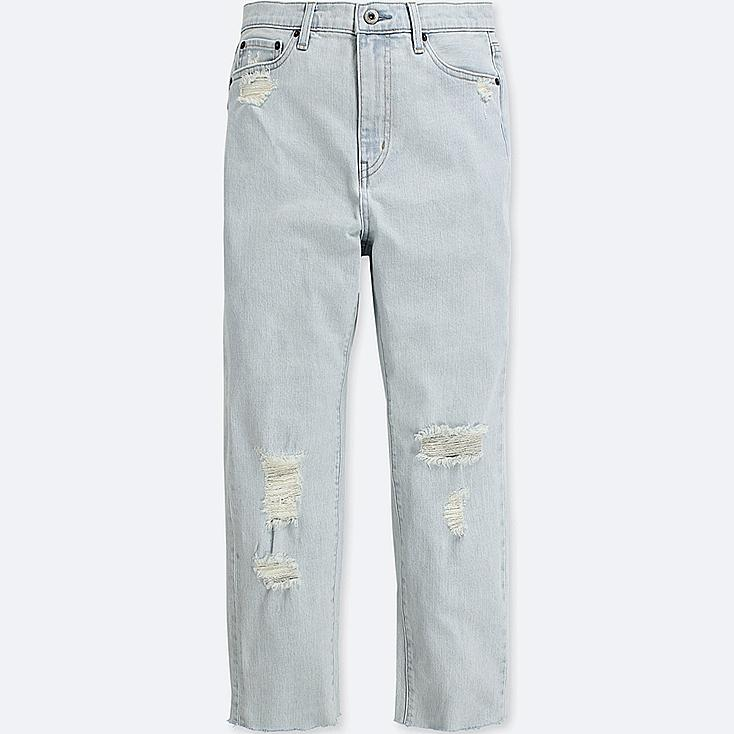 e72141b536a women high-rise boyfriend-fit jeans