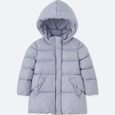 TODDLER WARM PADDED COAT, BLUE, medium