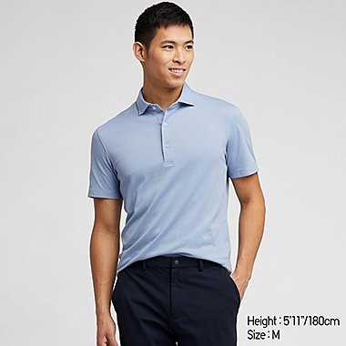 MEN AIRISM SHORT SLEEVED POLO SHIRT