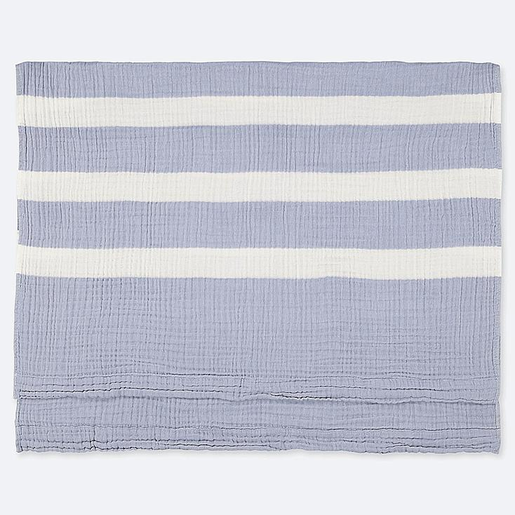 COTTON GAUZEKET (STRIPE), BLUE, large