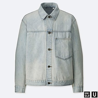 MEN UNIQLO U DENIM JACKET