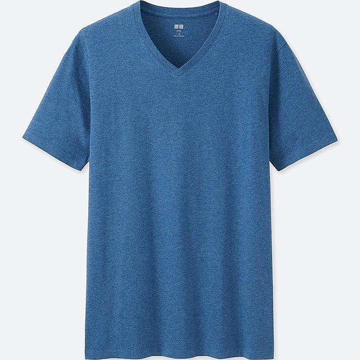 Men Supima® Cotton V-Neck T-Shirt | UNIQLO US