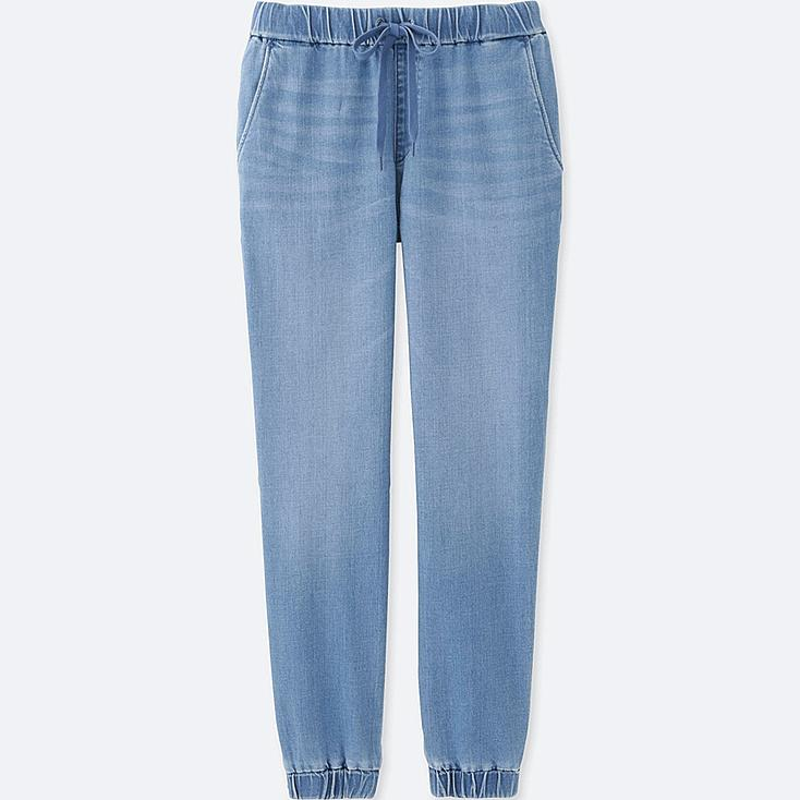 WOMEN Denim Jogger Pants