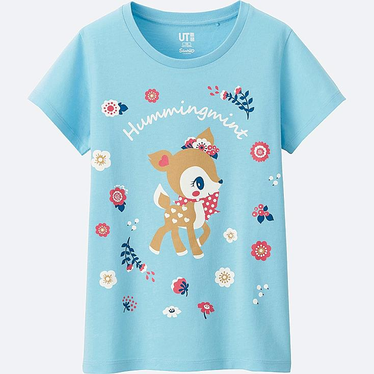 GIRLS SANRIO Short Sleeve Graphic T-Shirt