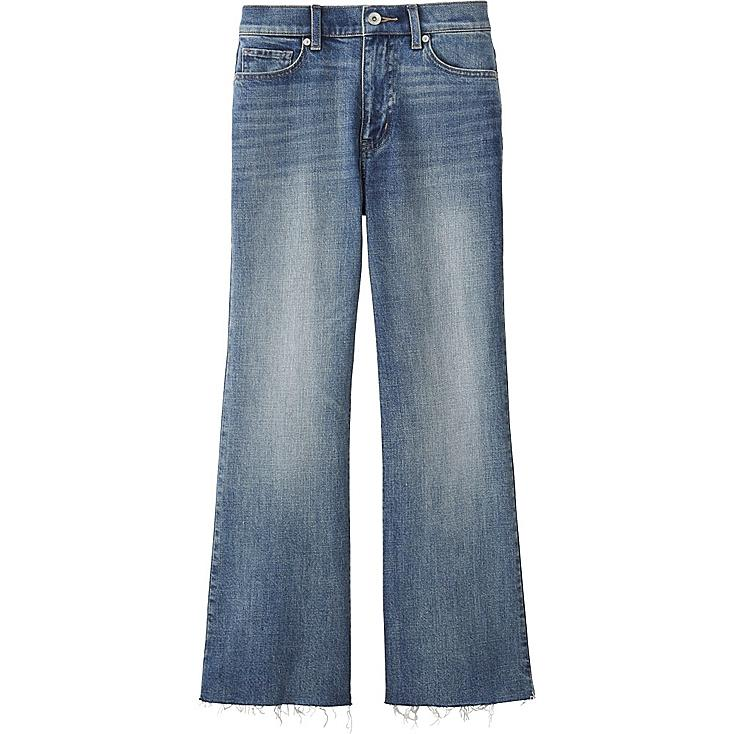 WOMEN Kick Flare Jeans | UNIQLO UK