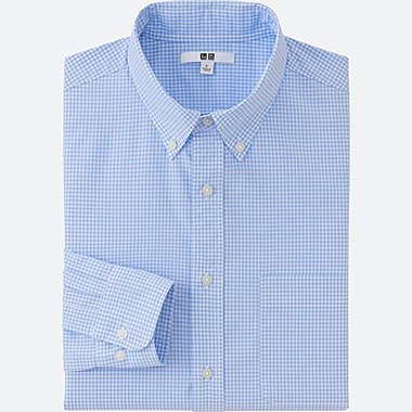 MEN Extra Fine Cotton Broadcloth Checked Shirt