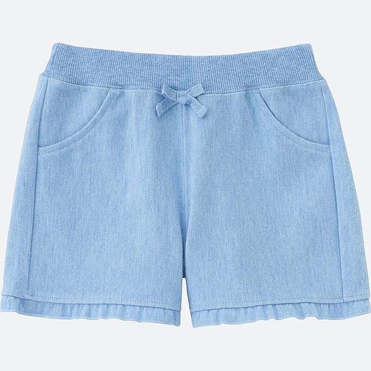 BABIES TODDLER CUT&SEWN KNEE LENGTH PANTS, BLUE, large