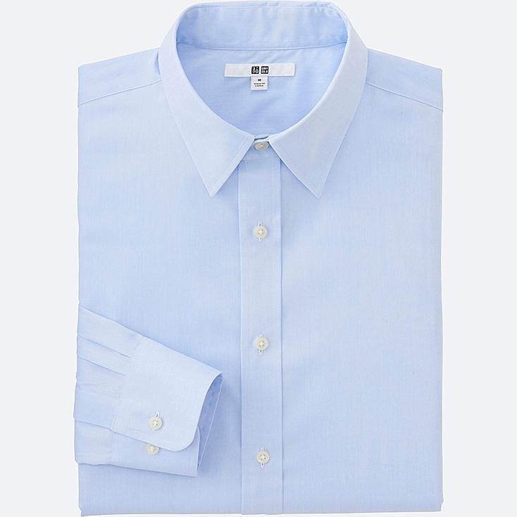 MEN Easy Care Broadcloth Long Sleeve Shirt