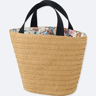 WOMEN (ÉPICE COLLECTION)  BASKET BAG, BLUE, medium