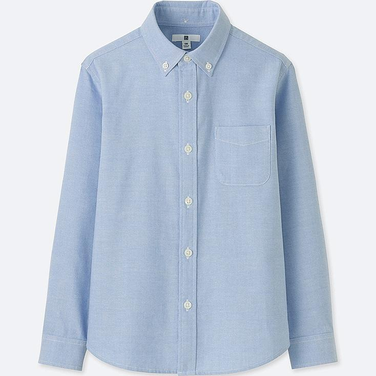 KIDS OXFORD LONG SLEEVE SHIRT