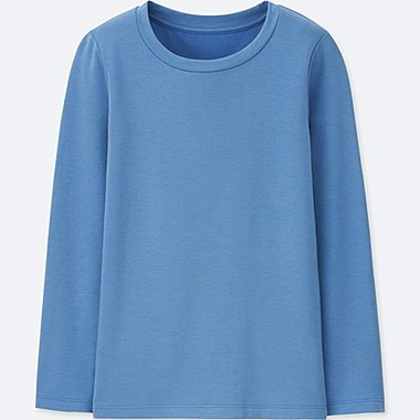 KIDS HEATTECH EXTRA WARM CREW NECK T-SHIRT