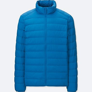 MEN ULTRA LIGHT DOWN JACKET, BLUE, medium