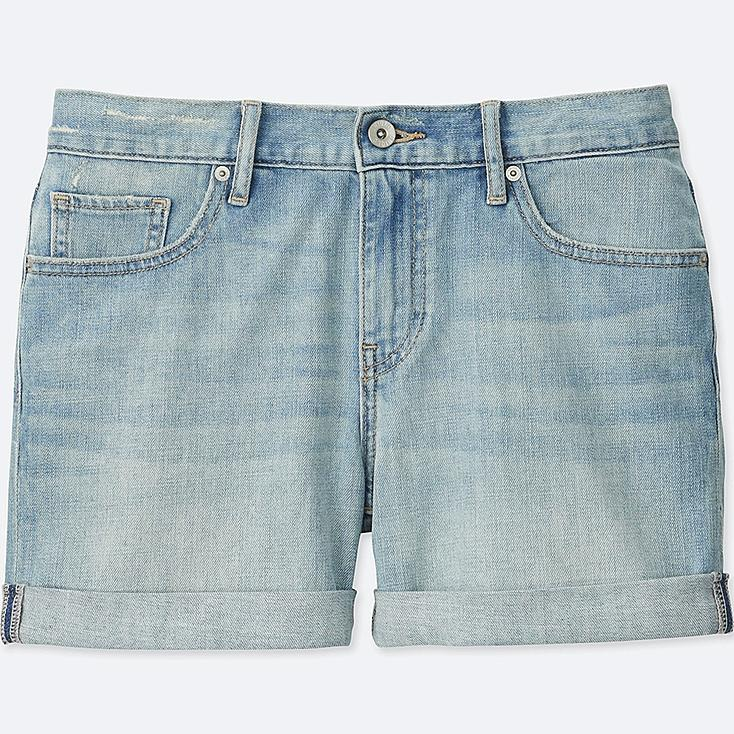 Women Boyfriend Fit Denim Shorts | UNIQLO US