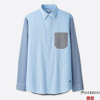 MEN J.W.ANDERSON EXTRA FINE COTTON BROADCLOTH SHIRT
