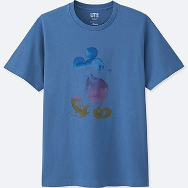 MICKEY & THE SUN SHORT-SLEEVE GRAPHIC T-SHIRT, BLUE, medium