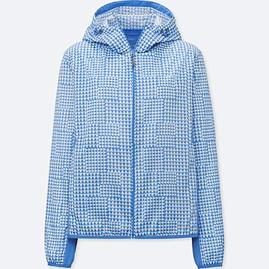 WOMEN SPRZ NY POCKETABLE PARKA (FRANCOIS MORELLET), BLUE, medium