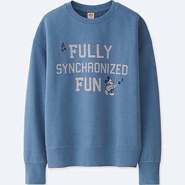 WOMEN SOUNDS OF DISNEY SWEAT PULLOVER