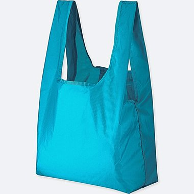 PACKABLE TOTE BAG, BLUE, medium